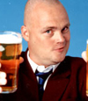 Headshot of Al Murray - the Pub Landlord